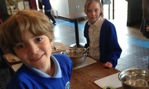 Preparing to make our cereal2