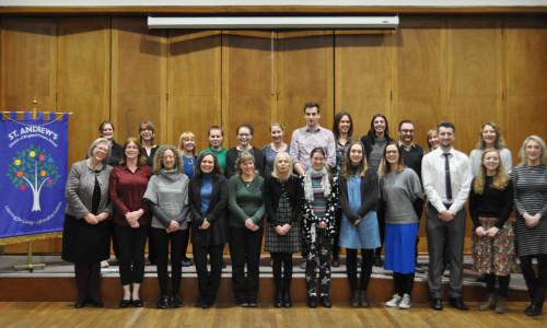 St Andrews Staff 2017-18