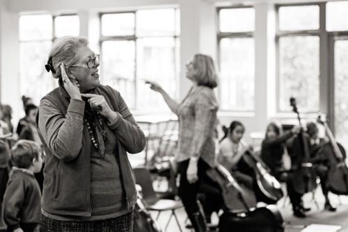 Sue East Living Tree Rehearsal